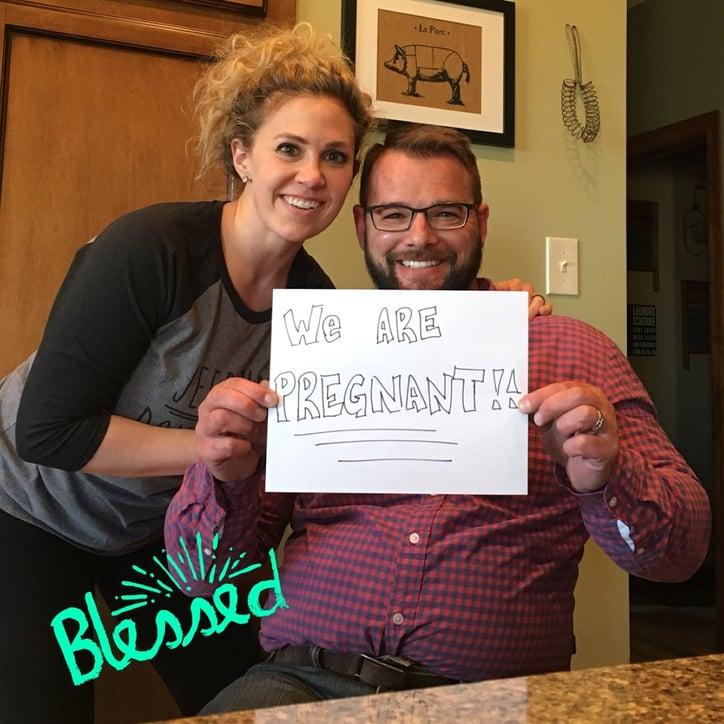 Lauren & Ryan Buck announce pregnancy.