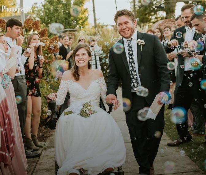 Wheelchair Wedding: Anne Claire & Jimbo Waldrup