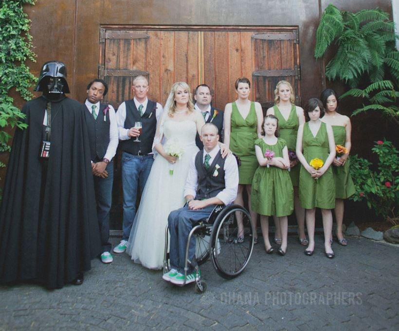 Wheelchair Wedding: Carolyn & Jeff