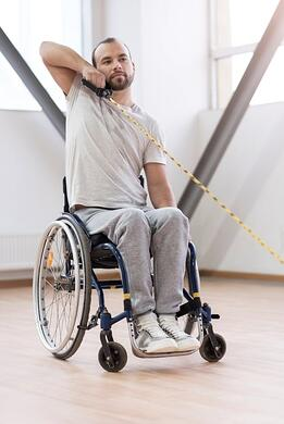 Wheelchair Stretching