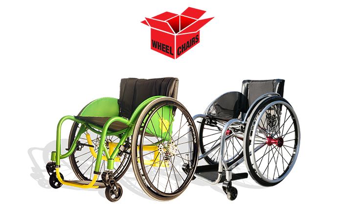Box Wheelchairs Daily Suspension Series