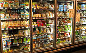 Freezer Section at Stores