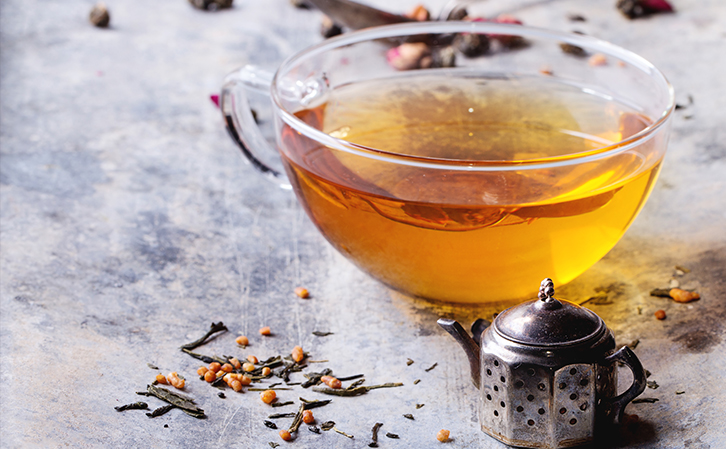 Tea - one of water alternatives for people with SCI or is paralyzed
