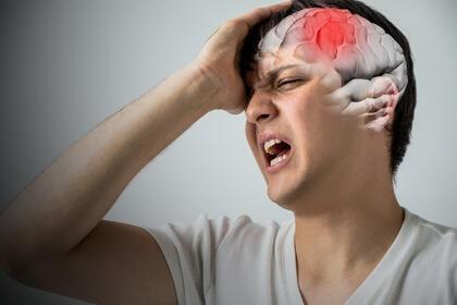 3D rendering of traumatic brain injury