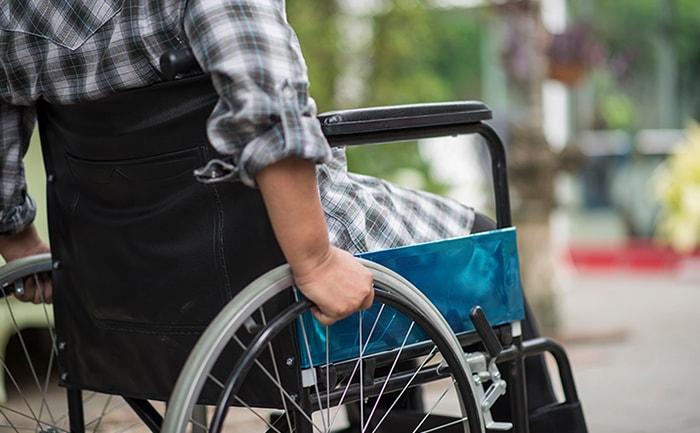 Person-Using-Wheelchair-from-Paraplegic-Injury