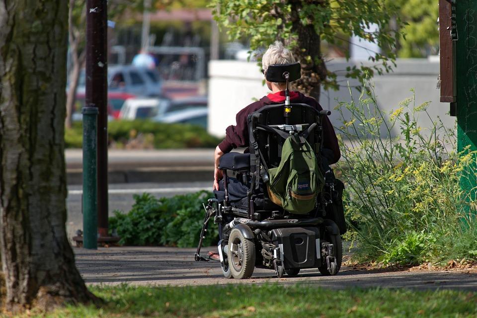 Wheelchair-Motorized