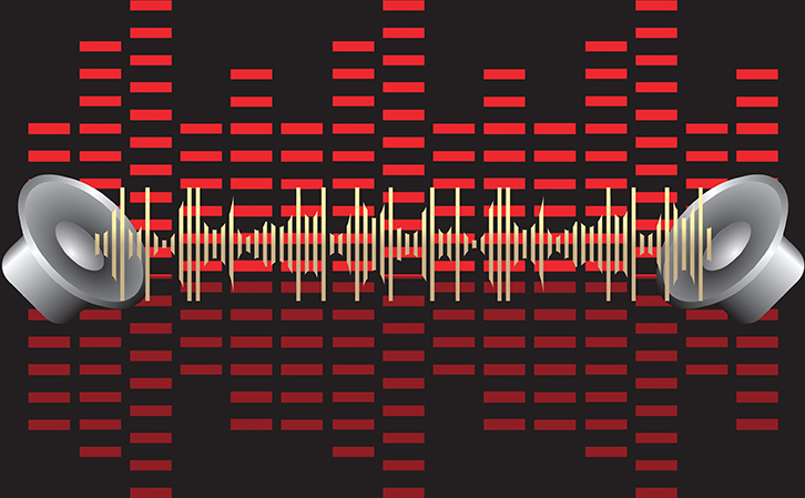 music waveform