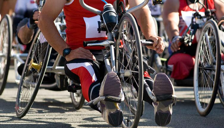 paraplegic, quadriplegic, and  tetraplegic athletes.