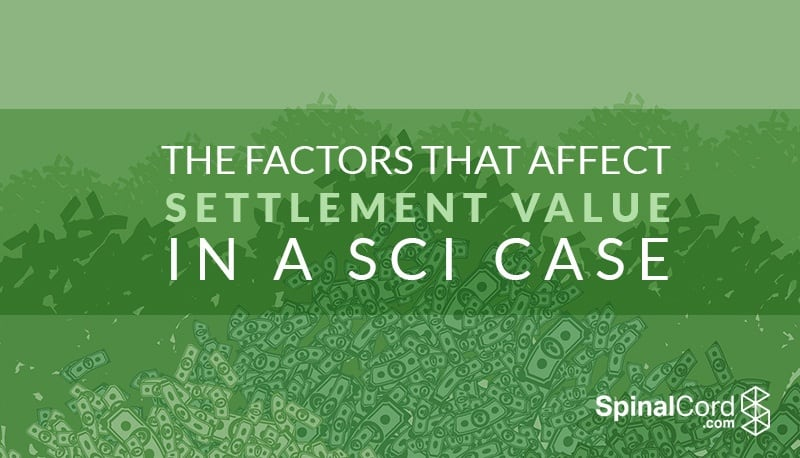 The Factors That Affect Settlement Value in a SCI Case