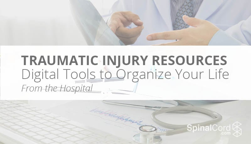 Traumatic Injury Resources Digital Tools for Caregivers